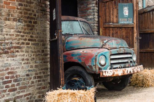 Opel LKW mit leichtem Rostbefall