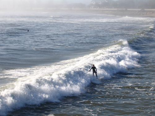 Surfer bei Ventura